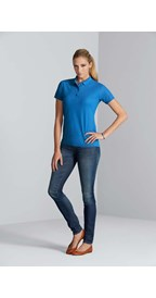 Gildan Polo Performance Double Pique SS for her