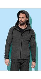 Stedman Power Fleece Cardigan Hooded Active for him