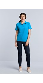 Gildan Polo Softstyle Double Pique SS for her