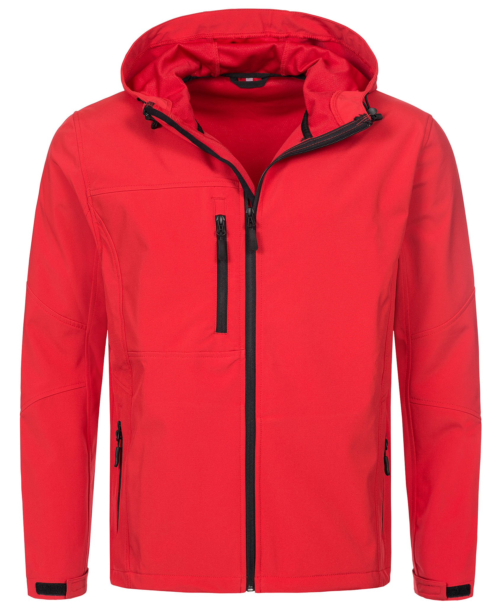 Stedman Jacket Hooded Softshell for him Crimson Red XXL