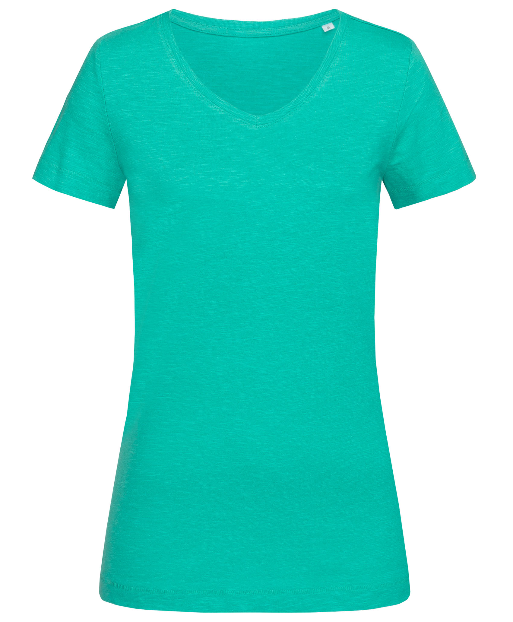Stedman T-shirt V-neck Sharon SS for her Bahama Green S
